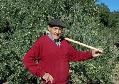 2. Anciano en su vida cotidiana. Esteban Salinas (Barasoain)