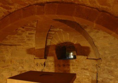 4. Cripta de la iglesia de Orisoain. Esteban Salinas (Barasoain)
