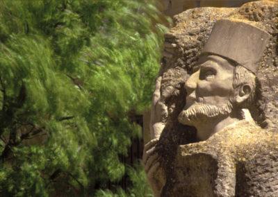 II RALLY. Foto testigo.Monumento al Doctor Navarro. Lander Goni