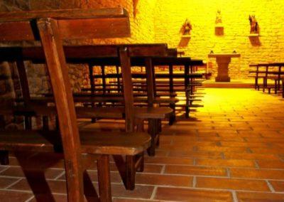 Interior Ermita Santa Lucia. Lander Goni (Arizkun)