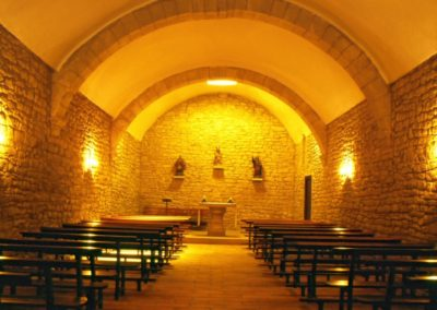 Interior Ermita Santa Lucia. TOMAS JIMENEZ (Mendillorri)