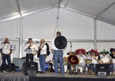 Concierto prefiestas 2012. AMB y Los Tigres
