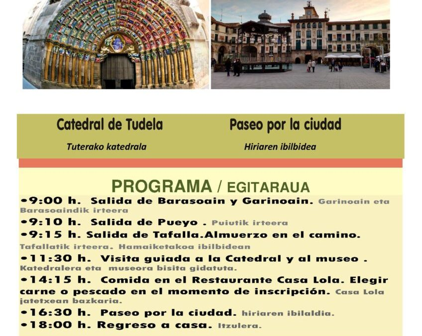 MAYORBA excursión a Tudela