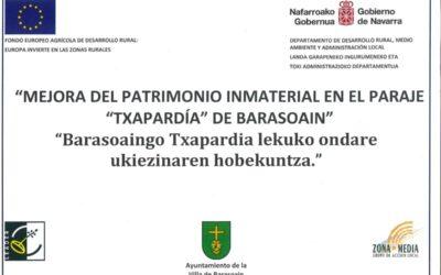"""MEJORA DEL PATRIMONIO INMATERIAL EN """"TXAPARDÍA"""""""