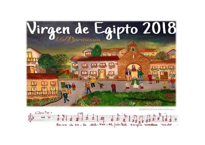 Actividades en honor a la Virgen de Egipto