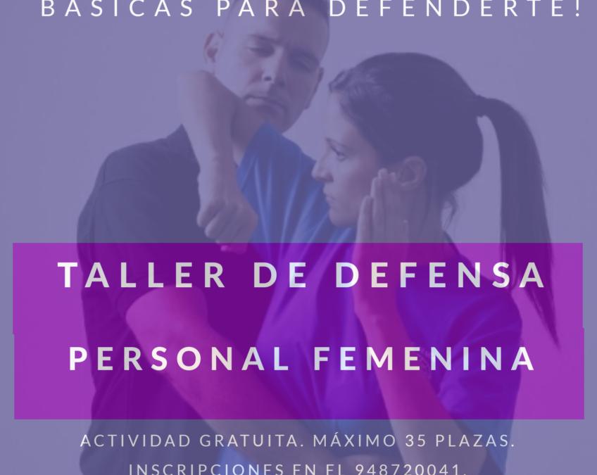 Taller de defensa personal femenina