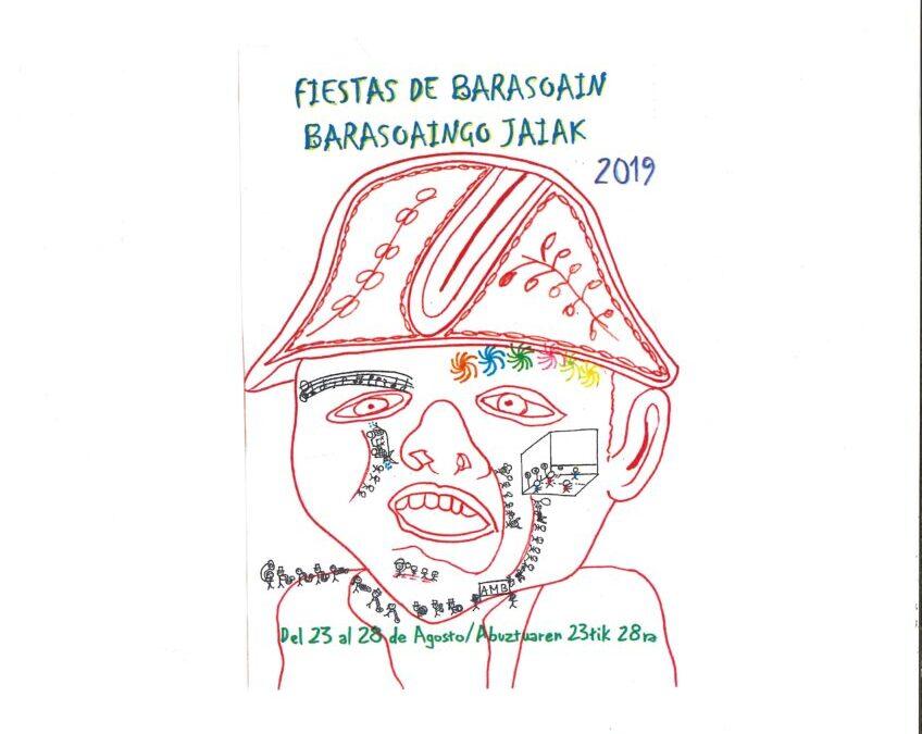 FIESTAS  BARASOAIN 2019 CARTELES GANADORES