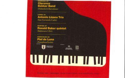 Cartel anunciador del              XV Festival Manuel Turrillas