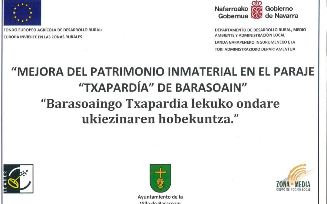MEJORA DEL PATRIMONIO INMATERIAL EN «TXAPARDÍA»